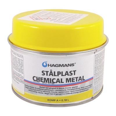 Hagmans Spackel Stålplast Chemical Metal 0,18 L