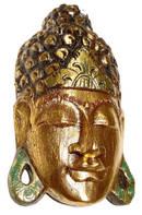 Guld Buddha Mask  - 40cm