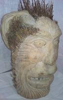 Bambu rot Mask från Bali.