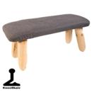 Meditationsstol med Ben - Antracit Grå