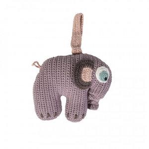 Speldosa Elefant - Sebra