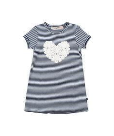 Kylie Dress w.heart - Minymo