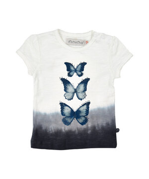 T-shirt butterflyes - Minymo