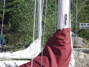 Manin sail cover8552 Mainsaiöl cover