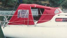 Albin78  cockpit tent