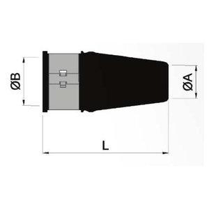 Gummipackbox 25 mm