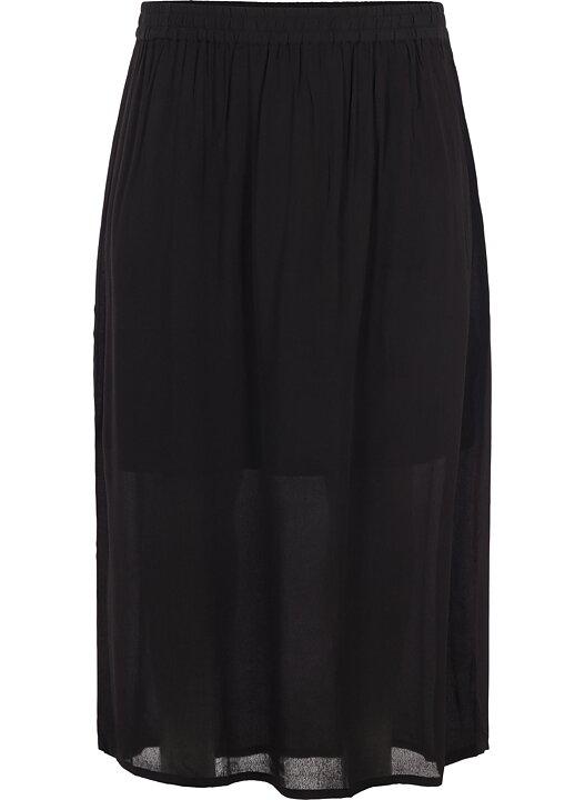 3c21cb066efa Lång kjol med fint fall - Curvy Collections