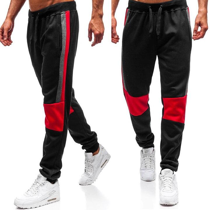 Svarta joggingbyxor sweatpants AG160  b13dd6f42c49b