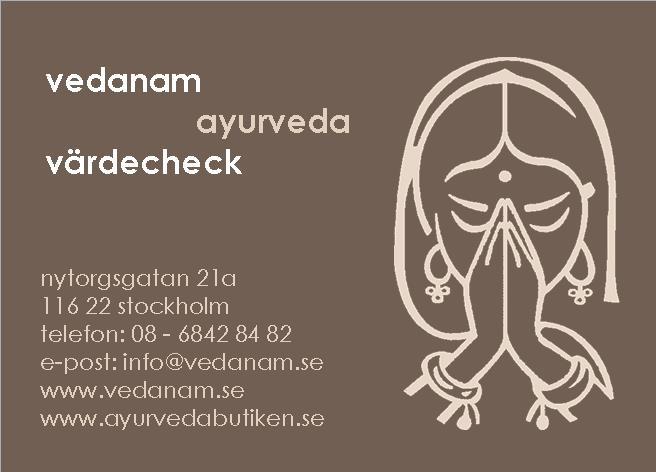 ayurveda behandling stockholm