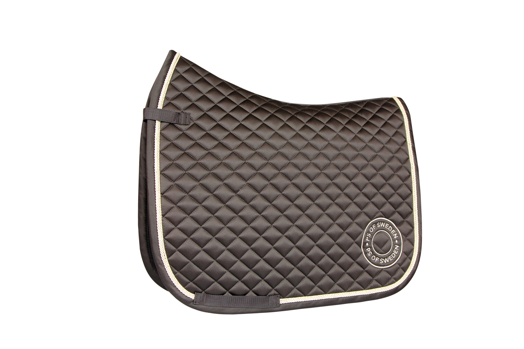 saddle pad pop mustang brown competition dressage horse and pony