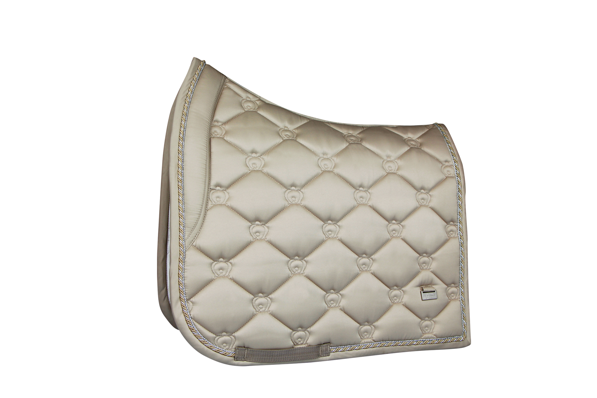 saddle pad champagne competition dressage horse and pony