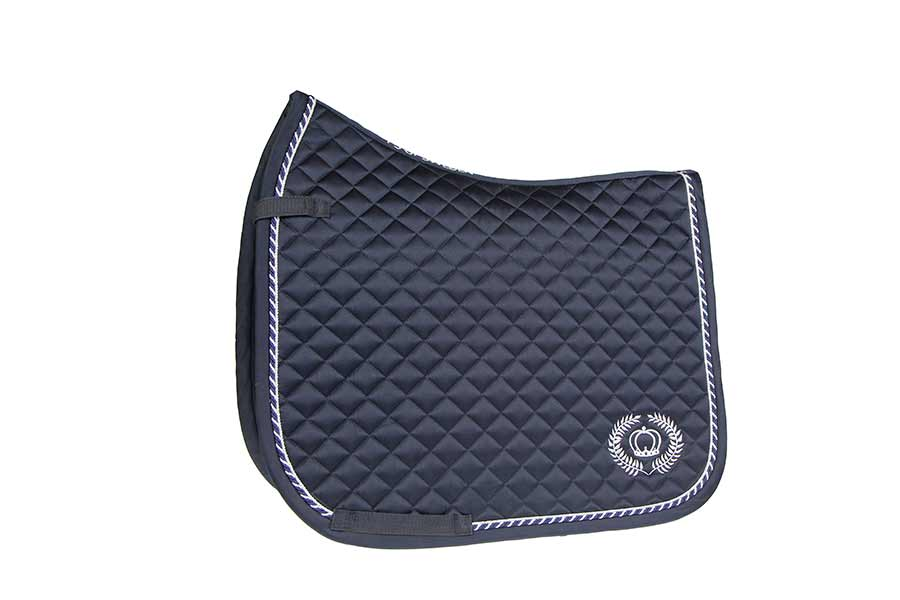 pop saddle pad grey competition dressage and pony