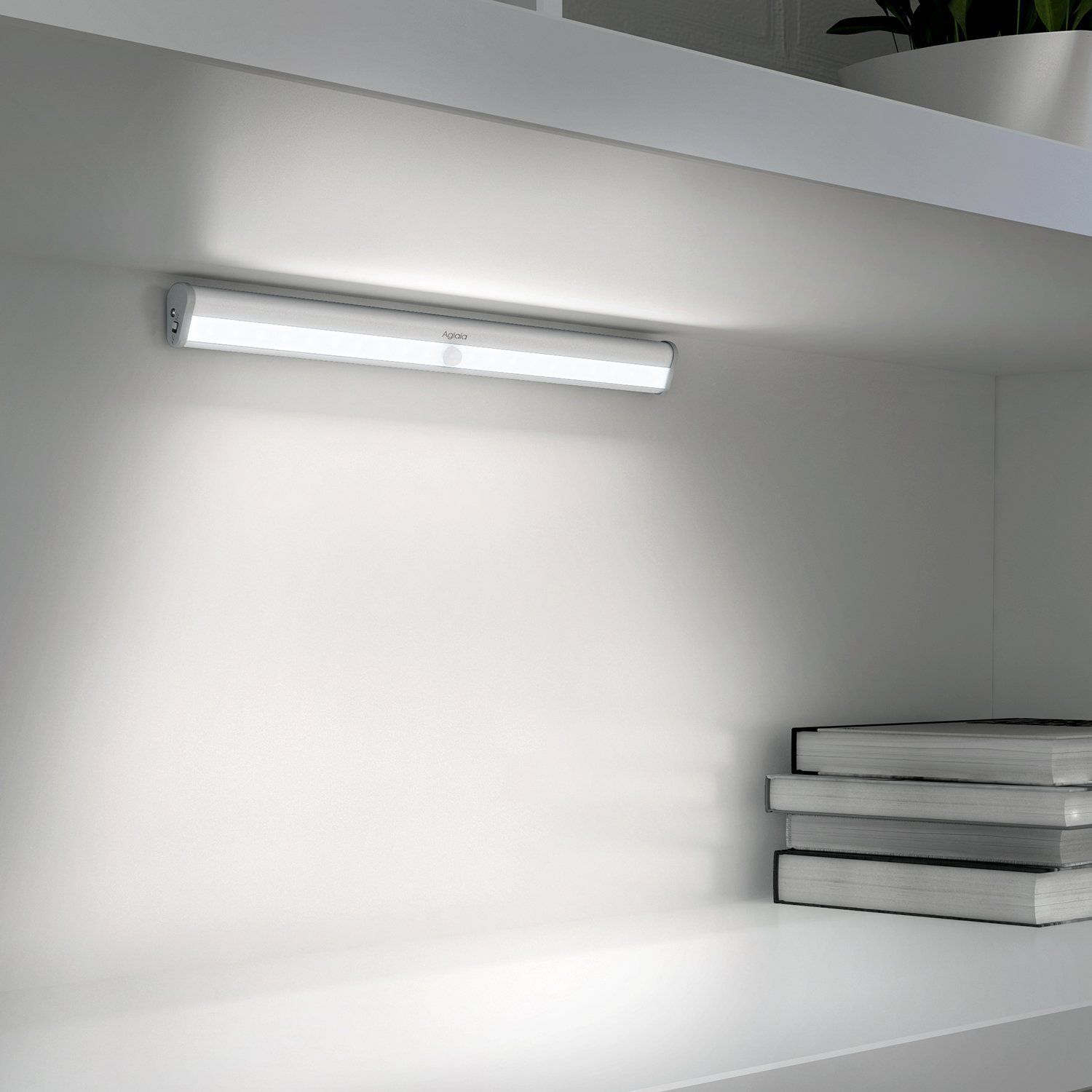 Led Closet Lighting. Bulala Rechargeable 10 Led Closet Light With Motion  Sensor (warm Light
