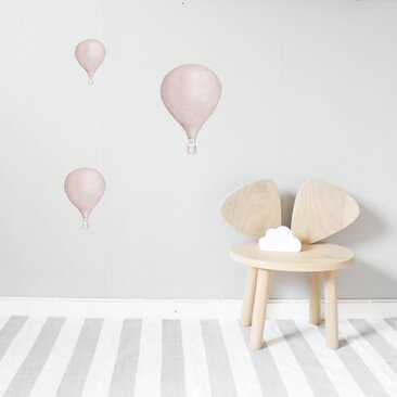 Dusty Pink Balloons