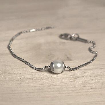 Lilja   Lykke - Armband Ensam Pärla 992773b273623