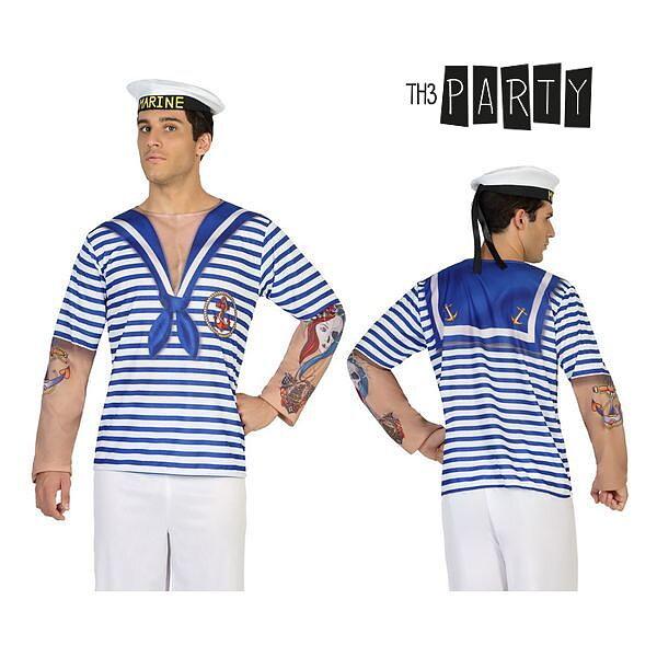 26087899f3d4 T-shirt för vuxna Th3 Party 7642 Sjöman - Presenthandeln.se