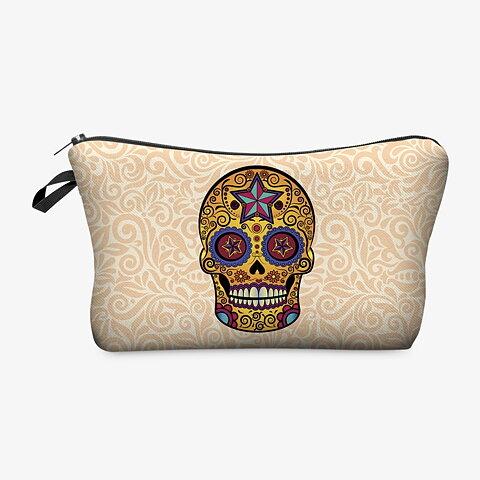 Cool Necessär för Damer   Tjejer - Mexikansk Döskalle - 3D-tryck 99dd9cd30e517