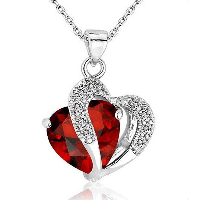 Halsband med Hjärta - Fint Smycke för Dam - 7 Färger - Fyndare.se 68270025bcc16