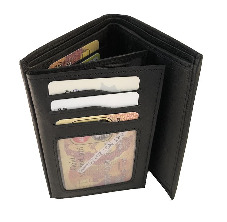 herr plånbok skinn