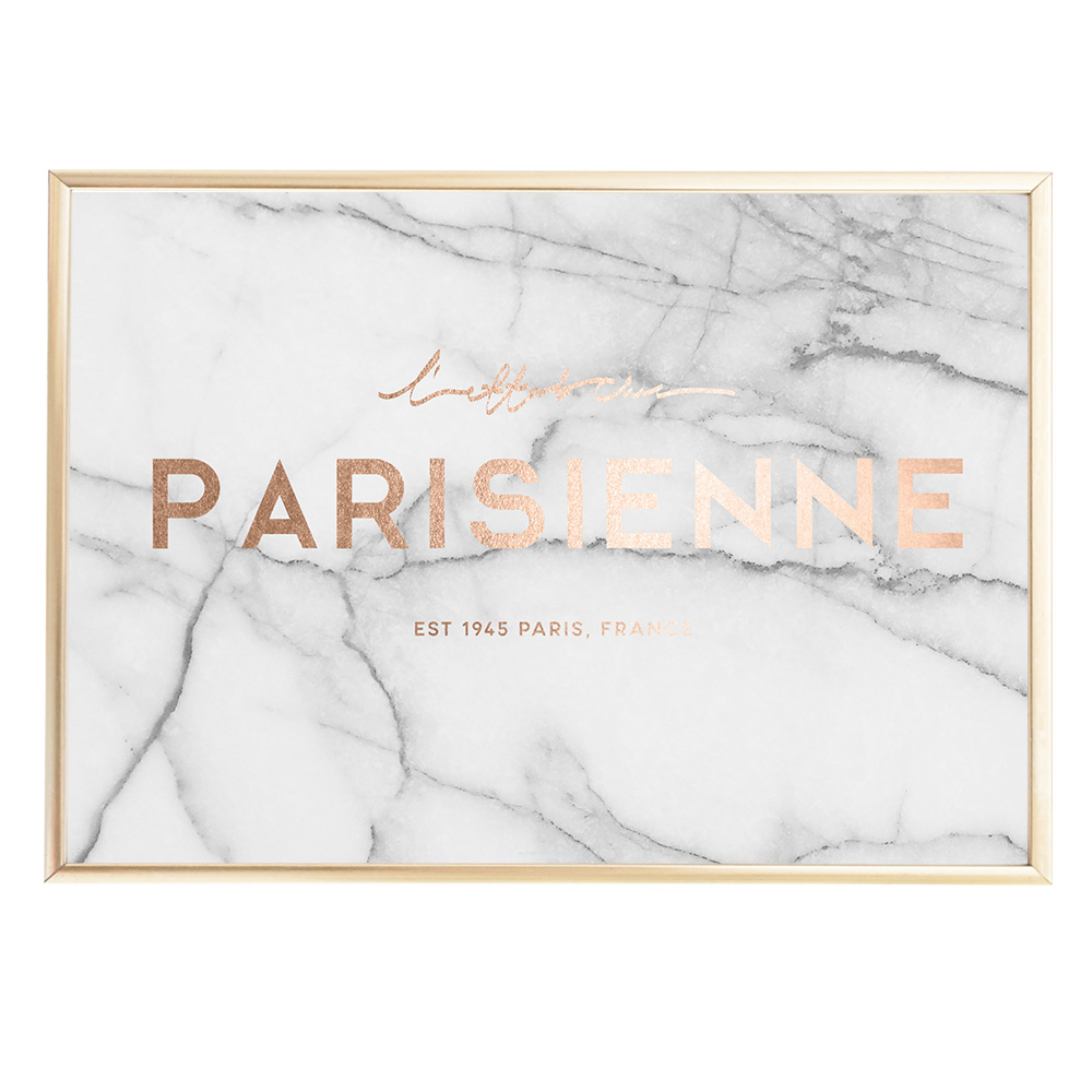 Parisienne Marble Faux Rose Gold Sealoe