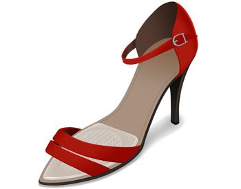 inlägg till högklackade skor