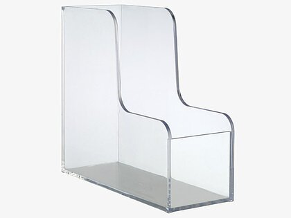 Magazine Holder PALASET Clear Deskstore The Shop Impressive Clear Plastic Magazine Holders