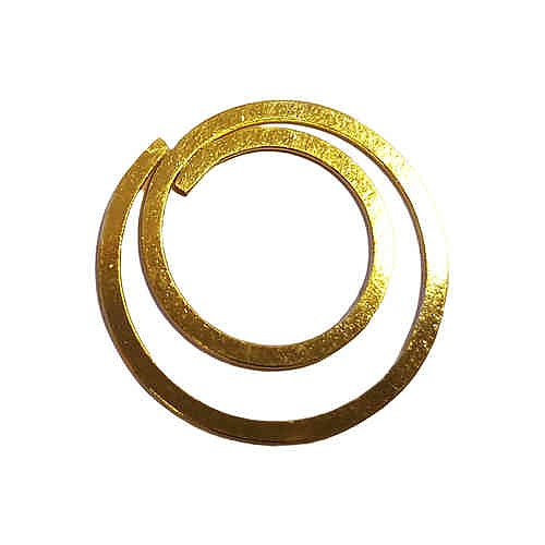 circular paper clips moon 100 psc small gold deskstore the shop