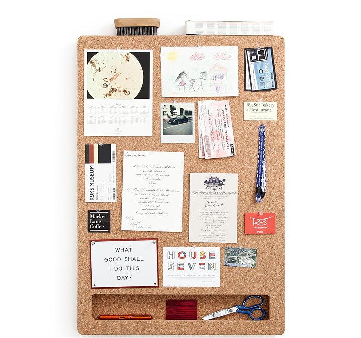 Message Board CORK FRAME PORTRAIT - Deskstore the Shop