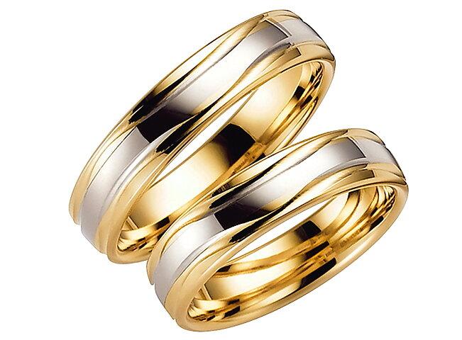 Förlovningsring från Schalins ringar Davos18k Vit Rödguld ... 9c75de343a5bf