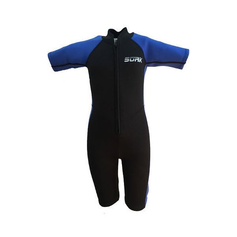 b9a5a1f952e Wetsuit Kid Shark junior black/blue from SOAK