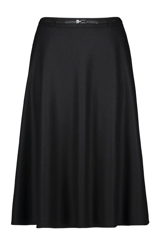 lång svart kjol