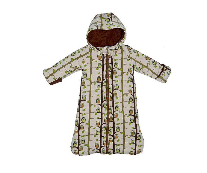 35b497fedfe0 Outdoor Sleeping Bag  Brown Owl - SnoozyWebshop