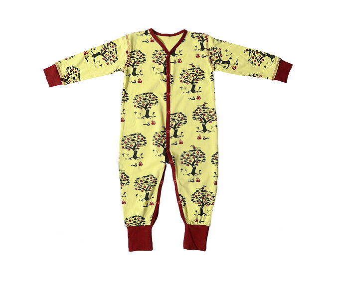 857789cdacae LS Bodysuit  Apple Tree - SnoozyWebshop