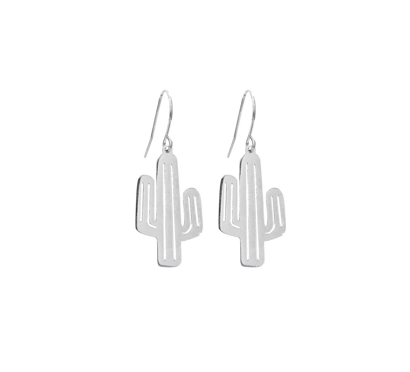 Pipols Bazaar - Örhängen Cactus - Silver - Rara Klaras 77381acc4e81e