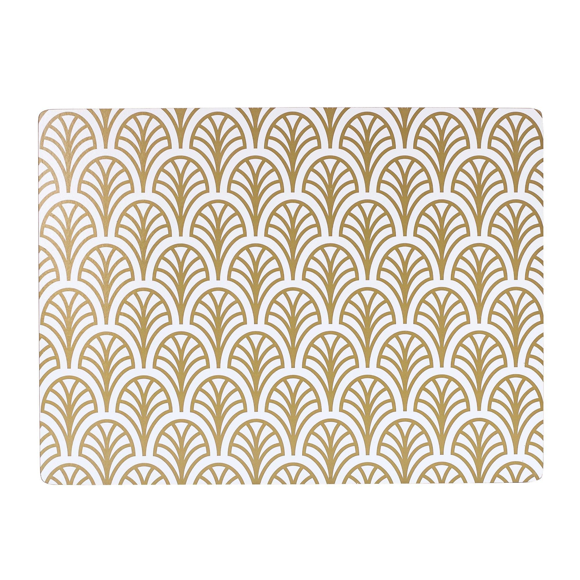 Dekohem - Bordstablett Gold 4-pack - Rara Klaras ecdae7266008d