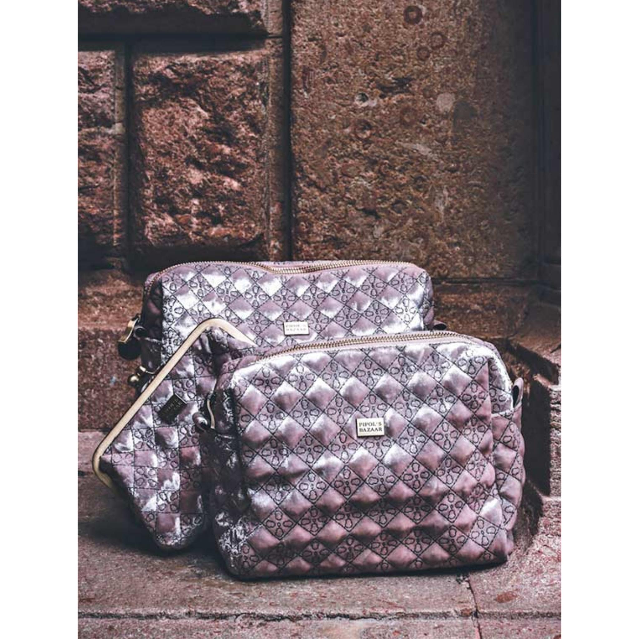 Pipols Bazaar - Velvet Necessär - Rosa - Rara Klaras 232d76cdc25cb