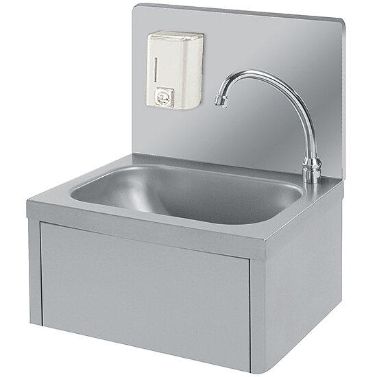 Restaurang Kökskompaniet Wall Mounted Hand Wash Basin With Soap