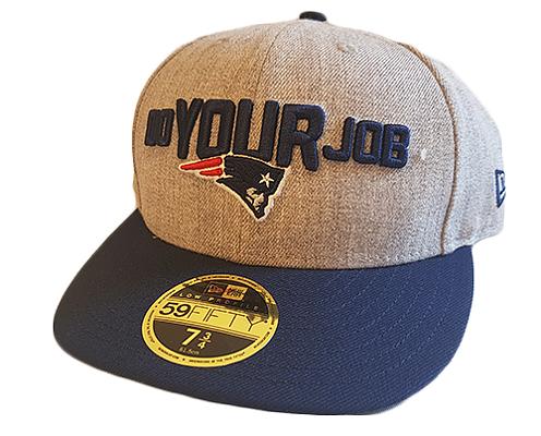 New Era 59Fifty Low Profile Draft-18 New England Patriots - Footballcave 1eeff7d59e531