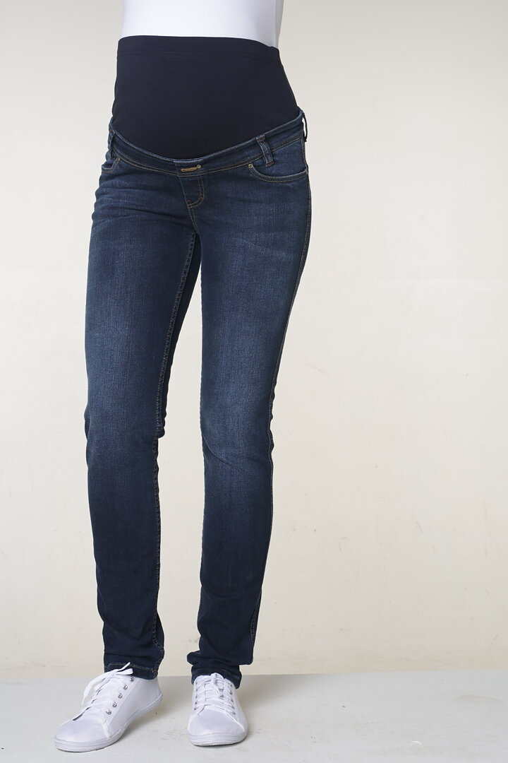 2432b30b2d54 Mammajeans / Gravidjeans i Mörk Denim - MOM TO BE
