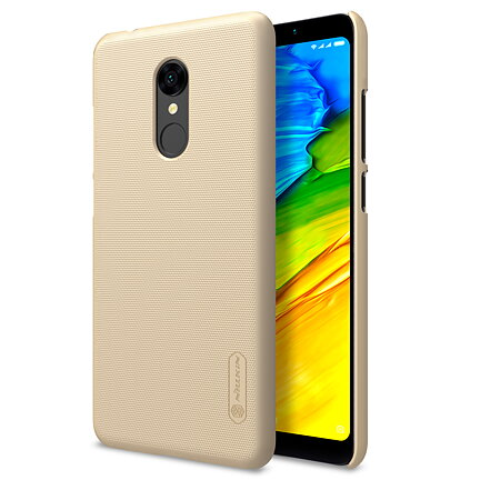 Nillkin hardcase Frosted Shield for Xiaomi Redmi Note 5 - Gold