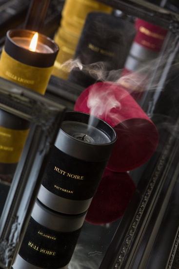 Victorian Candles - Velvet Levres 8x8 Black