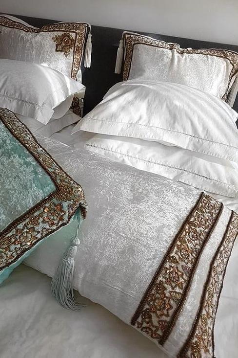 Valery Vain Home - Long Pillow 120x50 Ivory