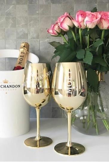 Moët & Chandon - Gold Glas (2 st)