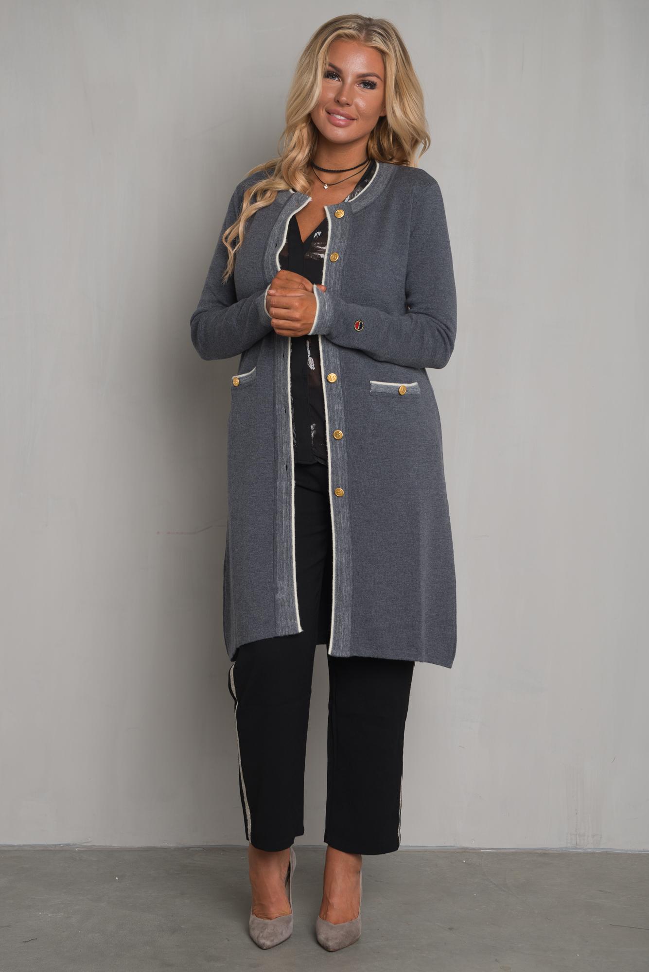 Busnel - Nice Cardigan Grey