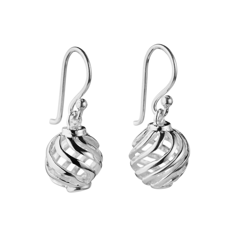 sahara silver örhängen