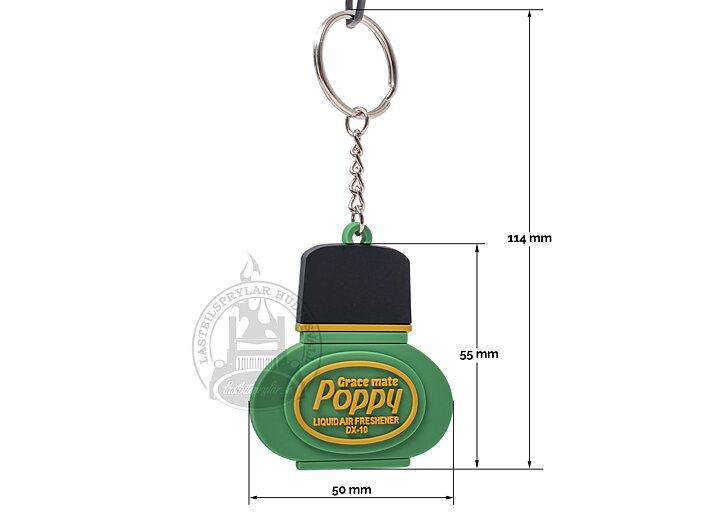 Nyckelring Poppy Grace mate - www.lastbilsprylar.se 1d77cc012de54