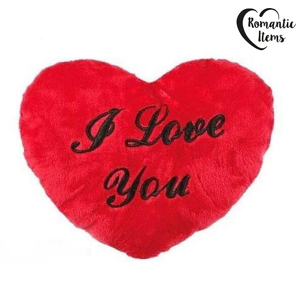 I Love You Plysch Hjärta 35cm - Romancebynet.com a0260e2cf7b92