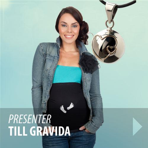 presenter till gravid