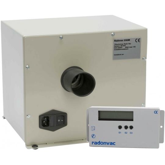 Nice RadonVac Radonsug 230 M ,100-200 m² - RCV-Ventilation PL19
