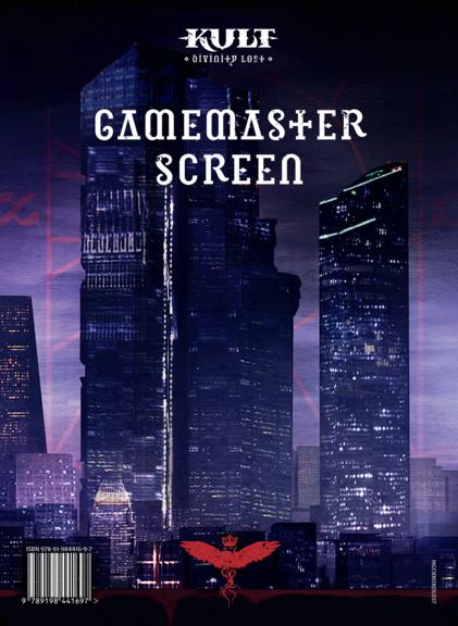 Gamemaster Screen for KULT: Divinity Lost (PRE-ORDER)